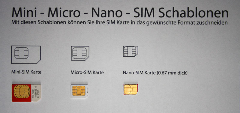 welche sim karte iphone 5 s
